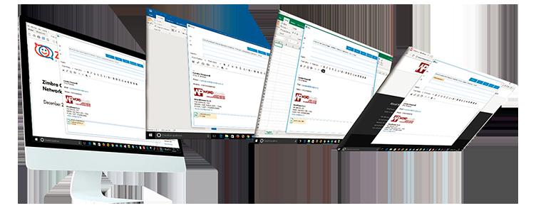 Z-Notifier: client MAPI Windows for Zimbra