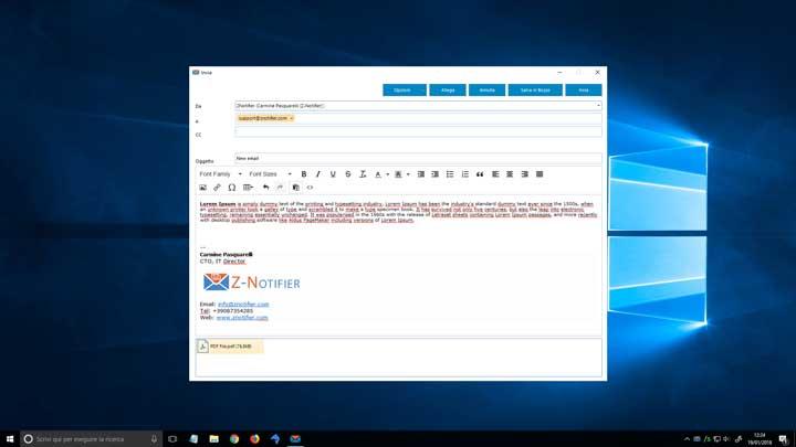 Z-Notifier – Il client MAPI per Zimbra